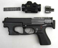VBR Machine pistol