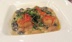 Spotted Pig Special: Scallops With Heirloom Beans