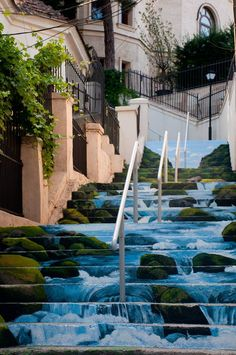 Street art in Bucharest, Romania. Street art in Bucharest, Romania. 3d Street Art, Murals Street Art, Amazing Street Art, Art Mural, Street Art Graffiti, Amazing Art, 3d Sidewalk Art, Escalier Art, Stair Art