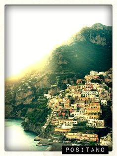 I love positano, and this picture captures the romantic feel perfectly