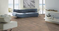 sq m - Avatara Oak Pearl Grey Man-Made Wood Floor – Wide Grey Oak, Underfloor Heating, Unique Lighting, Pearl Grey, Floor Design, Light Beige, Types Of Wood, Couch, Flooring
