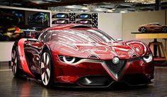 Alfa Romeo Some of the concept cars that have been made by the Italian Alfa Romeo company. Best Car Ever. Love Red heart and soul, best sport jot car. Maserati, Bugatti, Ferrari, Lamborghini, Sexy Cars, Hot Cars, Mustang, E90 Bmw, Porsche 918 Spyder