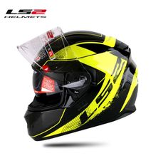 100.00$  Watch here - http://ali8hp.worldwells.pw/go.php?t=32730121669 - Free shipping new authentic double lens helmet With air bag motorcycle helmet racing helmet Warriork LS2 FF320 100.00$