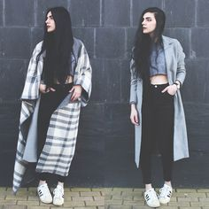 Asos Maxi Scarf, Young Hungry Free Cropped Sweater, Adidas Superstar Sneakers