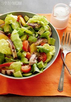 Packed with protein and healthy fat, this salad is as yummy as it is healthy!