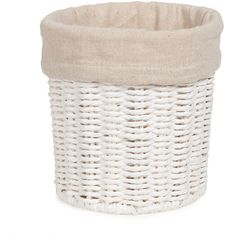 Zara Home Round Basket ($15) ❤ liked on Polyvore featuring home, home decor, small item storage, zara home and round basket