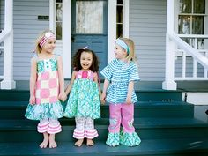 Darling children's clothing by CiCi & Ryann - Giveaway!