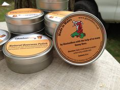 Natural Beeswax Polish 100ml by TheHairyScroller on Etsy