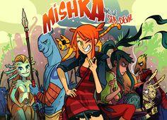 Art of Mishka Conceptual Drawing, Fantasy Character Design, Fun Comics, Fantasy Characters, Moment, The Book, Lab, Action, Posters