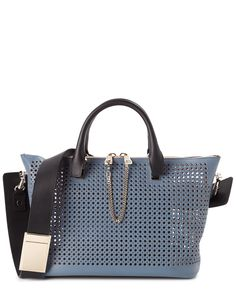 replica chloe bags - chloe baylee medium perforated leather satchel, see by chloe bags ...