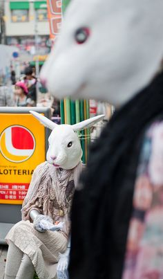 It's one of the wildest and most unique places in an already unique city. The Hare in HaraJuku. ( http://www.stuckincustoms.com/2011/07/20/the-hare-in-harajuku/ )