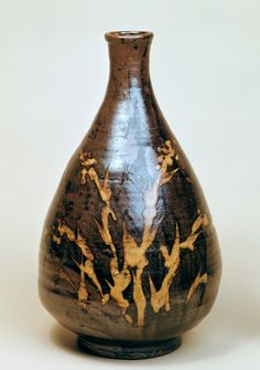 Shoji Hamada Vase : 1943 : Arts & Crafts: Japan 1926 - 1945 - Victoria and Albert Museum