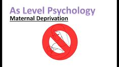 What is maternal deprivation? In this video we will answer that question and look at the 44 thieves. A Level Revision, Psychology A Level, Letters, Twitter, Instagram, Letter, Lettering, Calligraphy