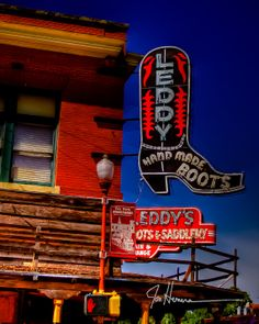 Hey, I found this really awesome Etsy listing at http://www.etsy.com/listing/100710753/leddys-boots-2-fort-worth-stockyards-16