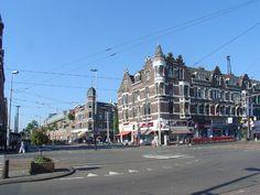 Hoek Schiedamseweg - Spanjaardstraat van de andere kant gezien