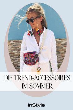 Auf diese 5 Trend-Accessoires können wir diesen Sommer nicht verzichten Cooler Style, Cooler Look, Boho Bluse, Beach Wear, Swarowski, Must Haves, Outfits, Instagram, Fashion