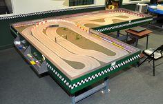 HO flat track