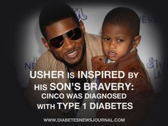 Read more about R&B Singer Usher's Son Living With Type 1 Diabetes.
