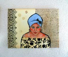 Leinwanddruck / Collage von mARTina haussmann auf DaWanda.com