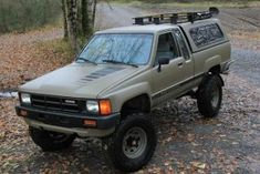 Used 1984 Toyota Pickup Deluxe in Rainier, Oregon New Toyota Truck, Toyota Pickup 4x4, Toyota Trucks, 4x4 Trucks, Toyota Hilux, Toyota Tacoma, Military Paint, Rc Drift Cars, Van Car