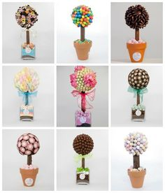 Deer Little Fawn: Sweet Trees Homemade Gifts, Diy Gifts, Candy Trees, Sweet Carts, Bar A Bonbon, Candy Centerpieces, Wedding Favor Table, Sweet Trees, Candy Crafts