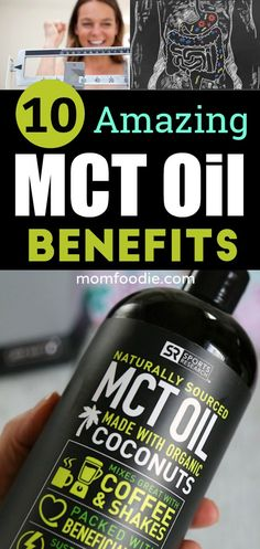 MCT oil benefits - 10 benefits of MCT oil and how to add it to your Keto diet plan. #keto #weightloss