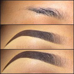 How to fill in eyebrows CORRECTLY!