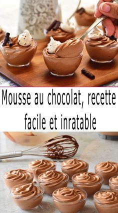 Dessert Mousse, No Cook Desserts, Simple Pleasures, Tupperware, Macarons, Tiramisu, Biscuits, Food And Drink, Chocolate