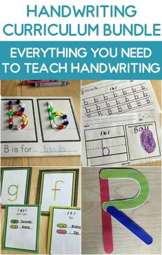 Teaching handwriting to your kindergarten class will be a breeze with these amazing resources!  These multi-sensory resources are engaging and fun to help teach your kindergarten students letter strokes & formation!  The handwriting lessons are consise and fun! Kindergarten Writing Activities, Spelling Activities, Kindergarten Activities, Preschool, Cursive Handwriting Practice, Teaching Handwriting, Help Teaching, Primary Teaching, Teaching Resources