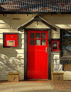 Red Door. By Peter Hammer