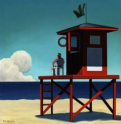A City of Commerce by artist Kenton Nelson