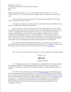 Stephen Kaplitt Cease And Desist Response Letter Hilarious