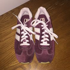 Sketcher suede sneakers, burgundy, size 6 1/2 Comfortable Skecher sneakers. Perfect with jeans. Skechers Shoes Sneakers