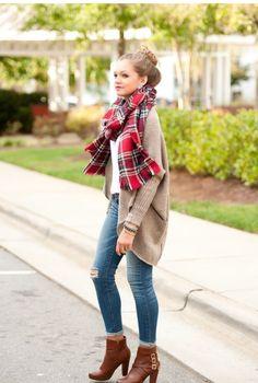Farklı Fular Kombinleri ve Bağlama Şekilleri   7/24 Kadın - #scarf #fashion #fall #fular #style