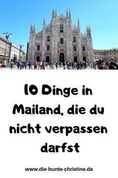 Zum ersten Mal in Mailand: 10 Dinge, die du nicht verpassen darfst Best Picture For italy aesthetic For Your Taste You are looking for something, and it is going to tell you exactly what you are l