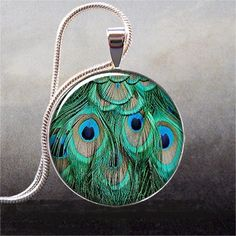 Peacock Necklace $8.95