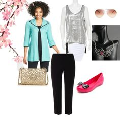 Jewelry Designer Blog. #Fashion outfit: Spring will be back - features silver #peacock feather necklace