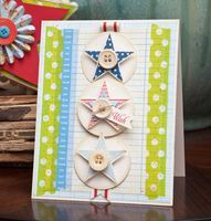 Cute card making inspiration created using our #storyteller collection