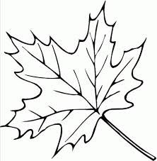 Free Printable Leaf Coloring Pages For Kids - ClipArt Best - ClipArt ...