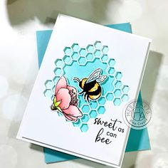 Hero Arts Cards, Bee Cards, Butterfly Cards, Card Tutorials, Card Kit, Stampin Up Cards, Paper Crafts, Card Crafts, Cardmaking