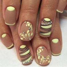 2017 Nail Polish Trends and Manicure Ideas ~ Nail Art Designs