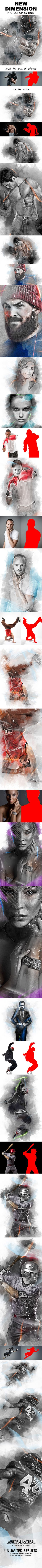 New Dimension Photoshop Action  #retouch #photographer • Download ➝ https://graphicriver.net/item/new-dimension-photoshop-action/17939100?ref=pxcr