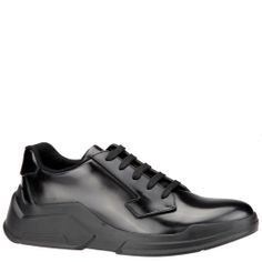 #Prada men lace-up shoe with geometric rubber sole. From autumn winter 2014 collection. www.wunderl.com