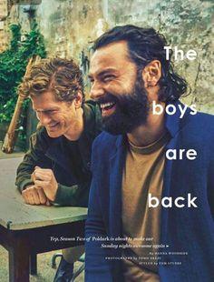 The Men of Poldark - from GlamourUK