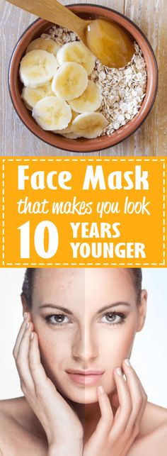 Amazing trick that will make you look 10 years younger! #face #beauty #younger #mask
