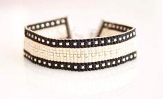 Kralen armband weef armband bead weave armband door NandNJewelry