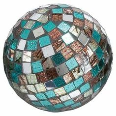 Decorative Mosaic Balls Pumpkin Mosaic Maybe With Bowling Ball Base  Crafty Vixen Ideas