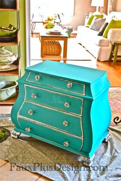 Teal chest