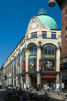 Metropol-bygningen, København - Art deco style