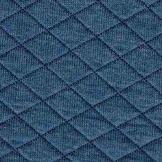 Quiltet jersey melert denimblå - Meretes Atelier Lysthuset Fashion, Atelier, Moda, Fashion Styles, Fashion Illustrations